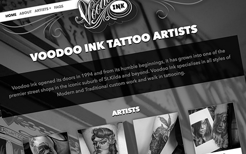 Voodoo Ink's Website